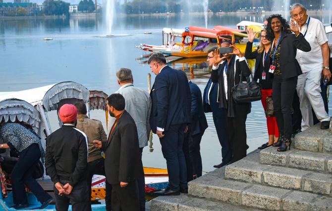 EU MPs who toured Kashmir were on private visit: Govt