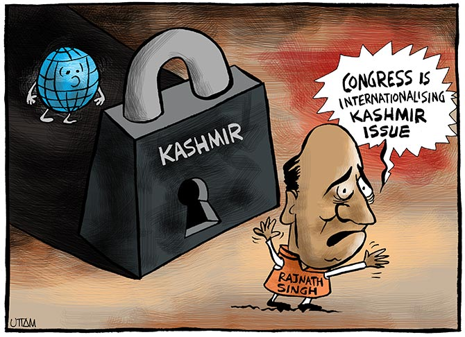 Uttam's Take: Who is internationalising Kashmir?
