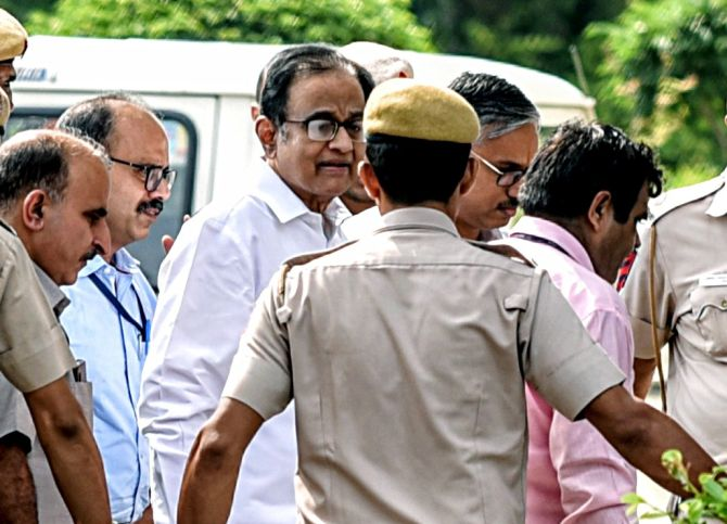 Chidambaram sent to ED custody till Oct 24