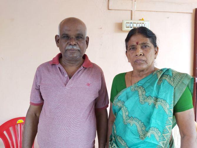 Senthamarai, 65, and P Shanmugavel, 70, became an Internet sensation after beating back armed robbers.