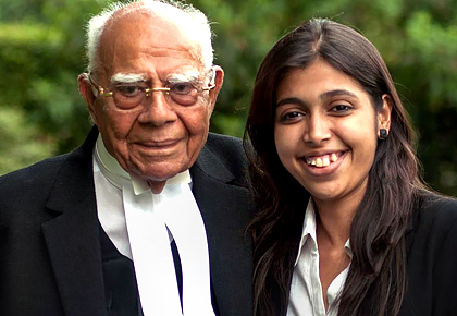 When I interned with Ram Jethmalani