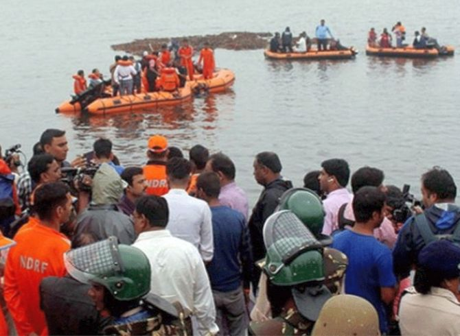 At least 12 dead, around 30 missing in AP boat mishap