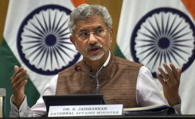 Didn't see any 'tukde-tukde' gang in JNU: Jaishankar
