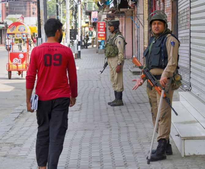 Curbs lifted in Kashmir, normal life remained affected