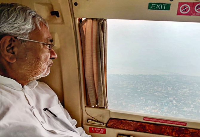 'Where were Nitish Kumar for 4 days of Patna floods?'