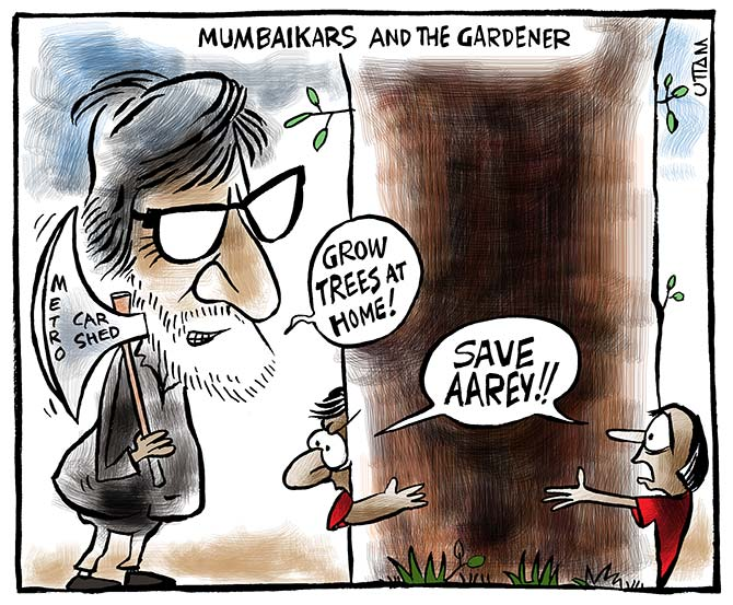 Save Aarey: Mumbaikars and the gardener