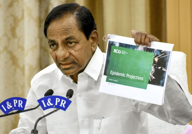 KCR appeals to PM to extend national lockdown