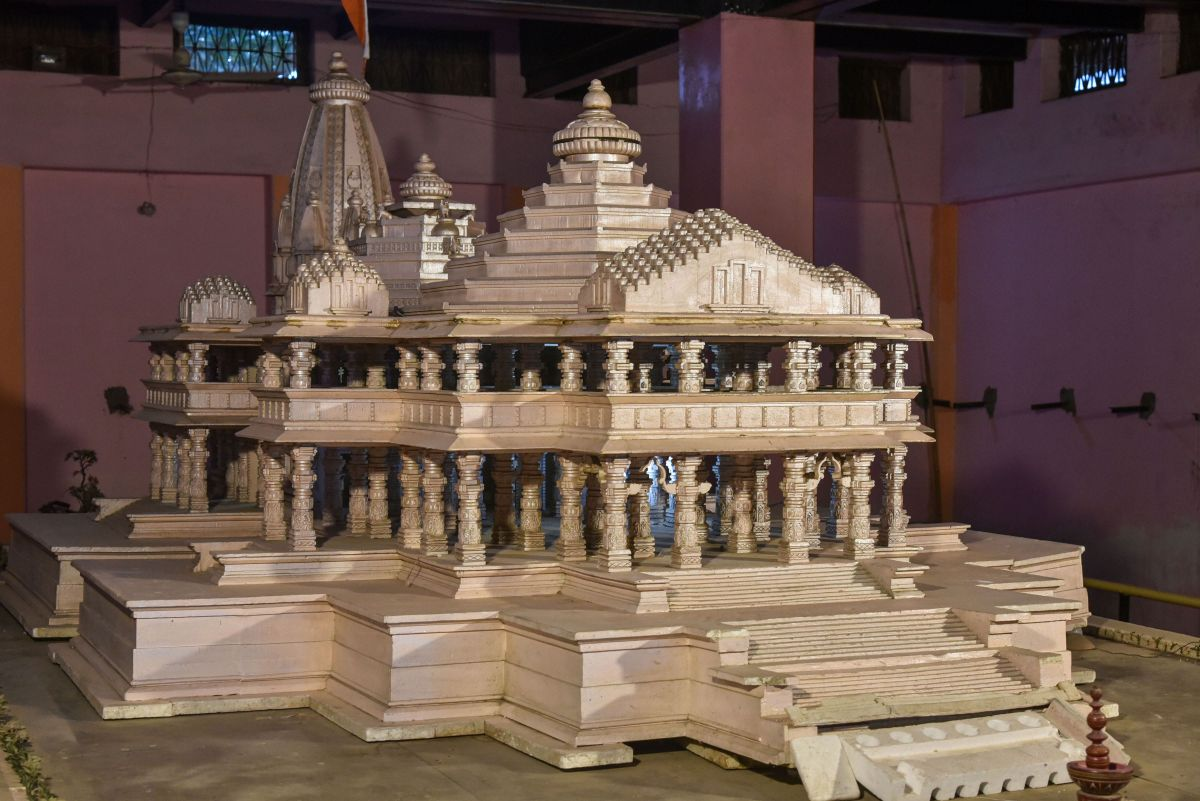 Ram Temple project likely to cost Rs 1,100 cr
