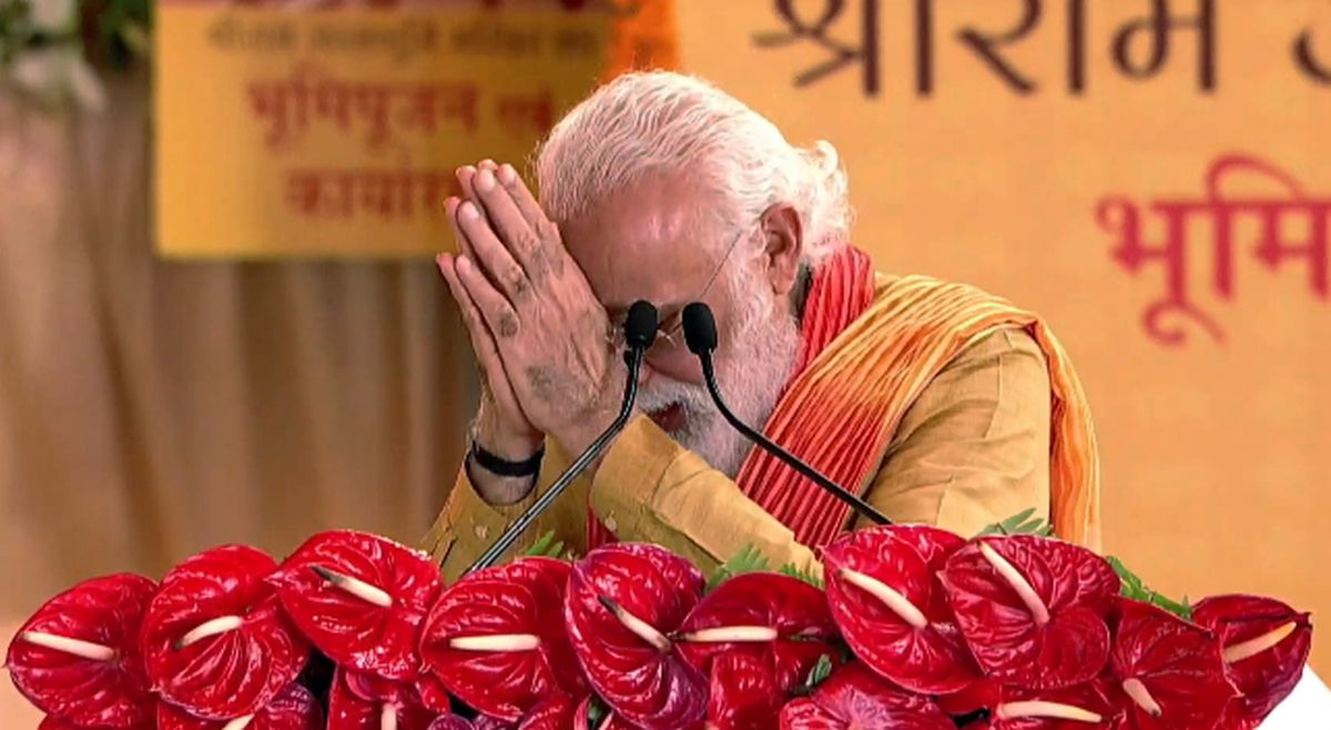 Modi's bhoomi puja speech: A masterpiece!