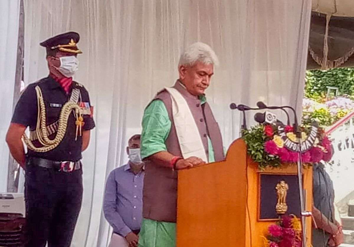 Why Modi chose Manoj Sinha as J-K lieutenant governor