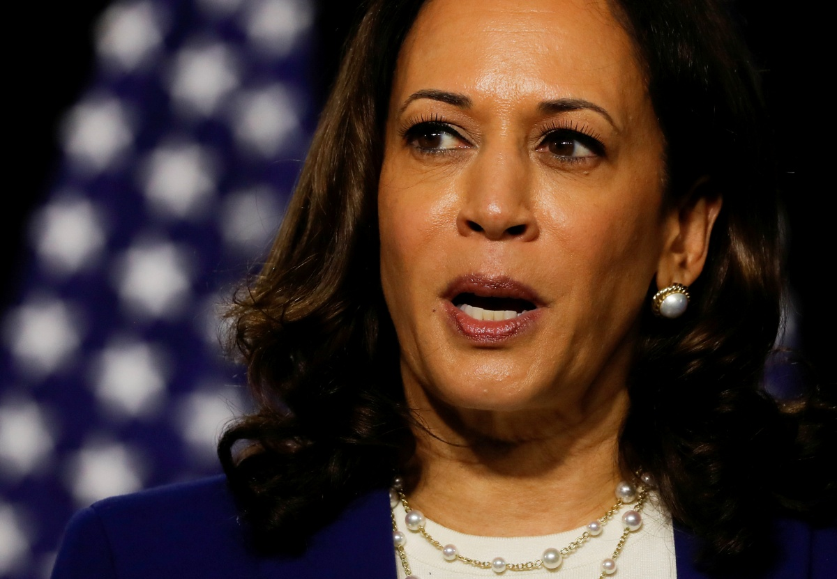 Why is BJP silent on Kamala Harris?