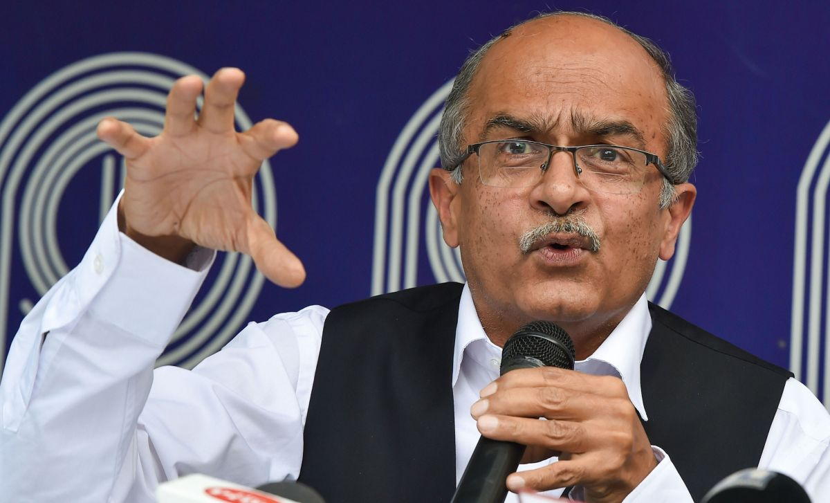 'Contempt of my conscience': Bhushan won't apologise