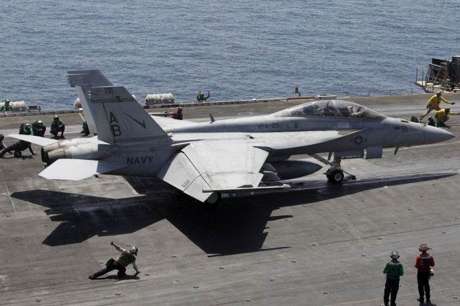 What Boeing wants to supply IAF, navy - Rediff.com India News