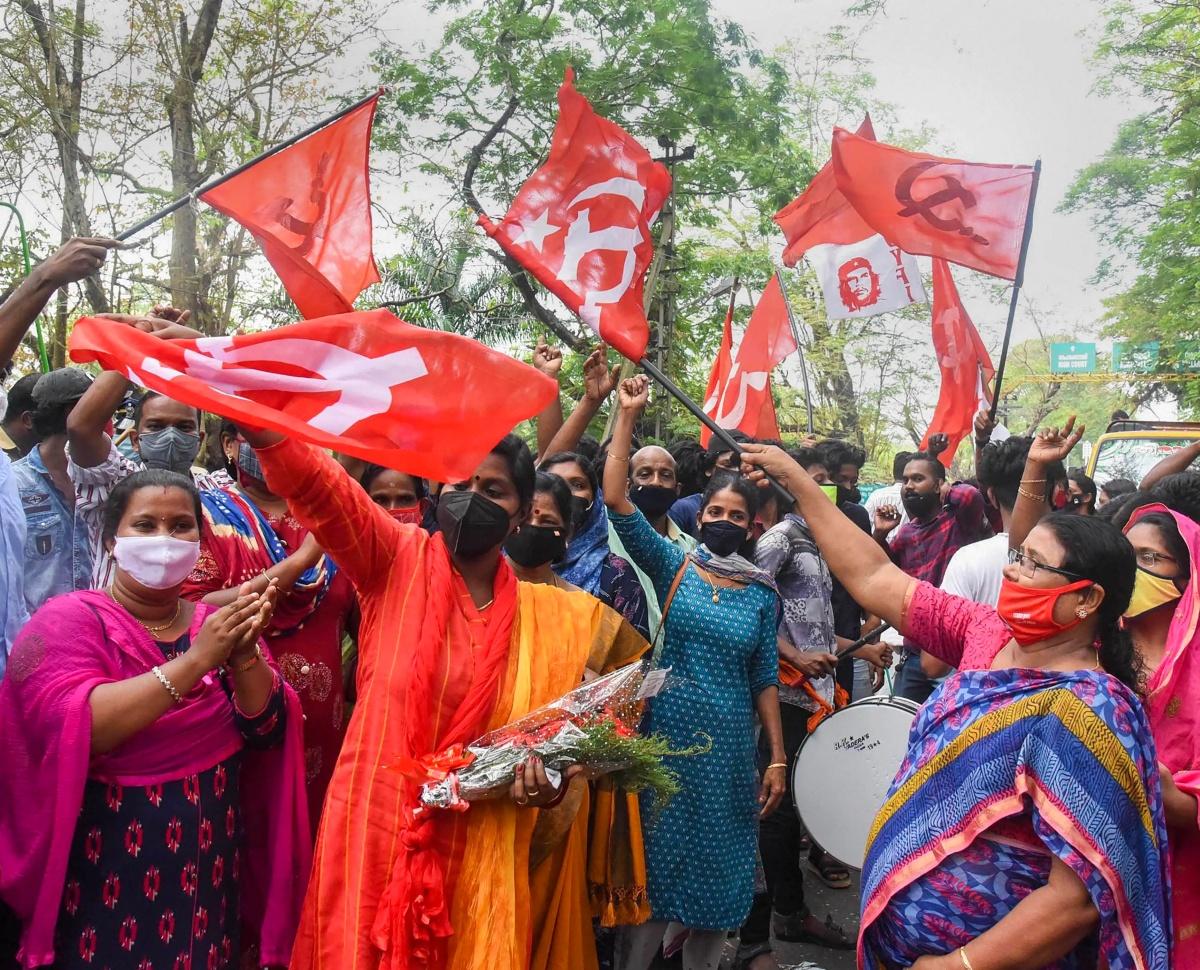 Kerala hails Pinarayi, sends Modi a message
