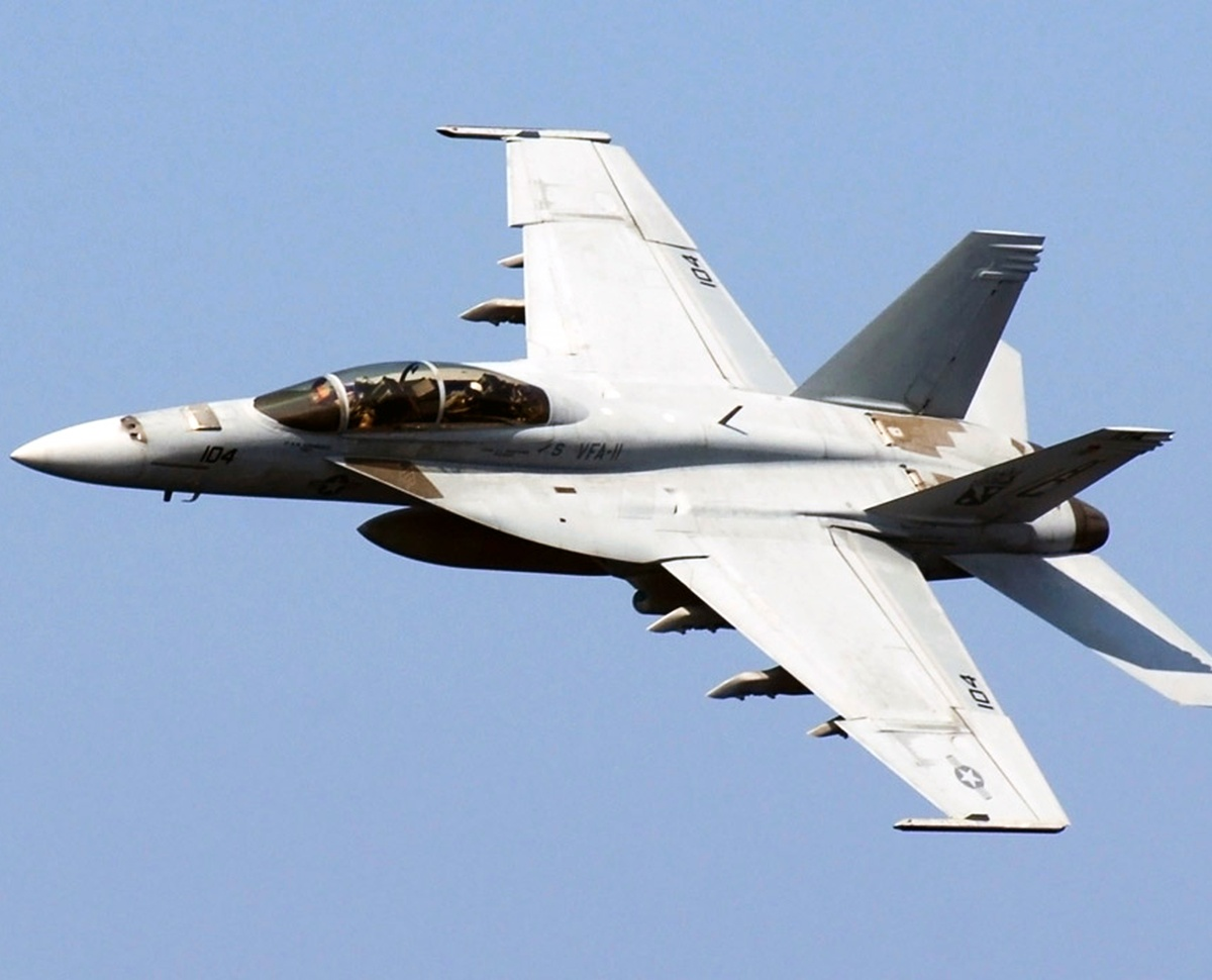 Boeing tests Super Hornet for Indian Navy