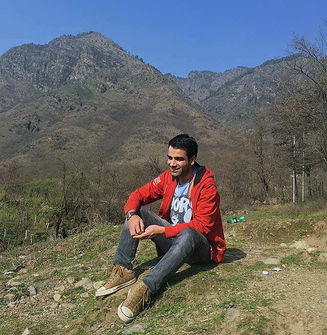 Javid Parsa in his native Kashmir