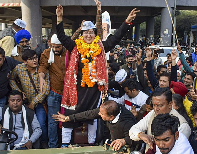 8 of 9 women fielded by AAP emerge victorious
