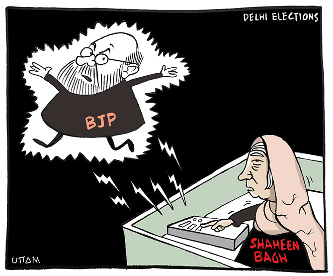 Uttam's Take: Shaheen Bagh's jolt to BJP