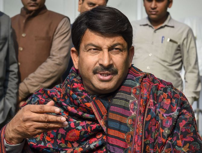 Manoj Tiwari removed as Delhi BJP president