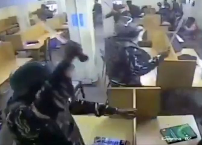 SEE: New video shows cops using force in Jamia library