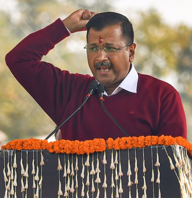'CM for all': Kejriwal begins 3rd stint as Delhi CM
