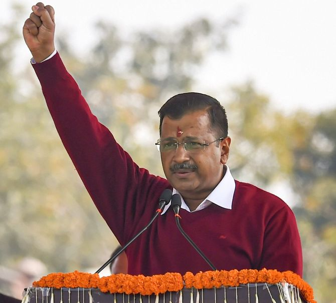 Kejriwal: 'Aam aadmi' who reclaimed Delhi for 3rd time