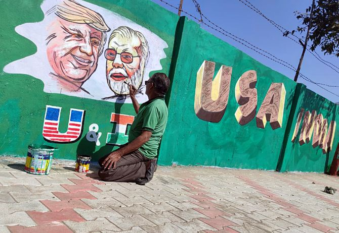 Kem Cho Trump! Ahmedabad all set to welcome US Prez