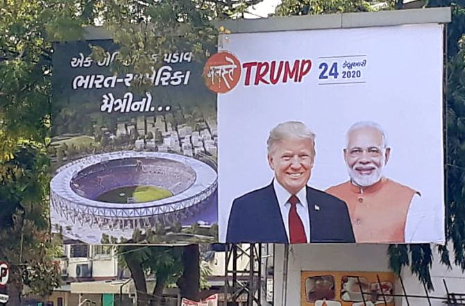 Not 70 lakh, but 1 lakh to attend Trump roadshow