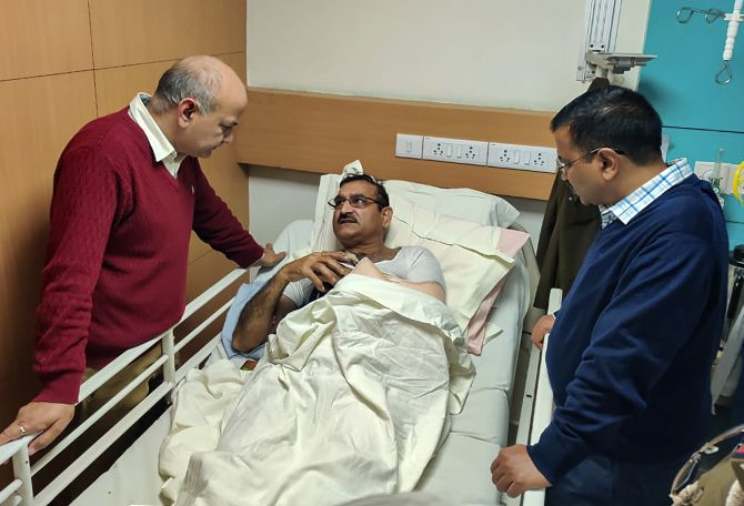 Stop this madness, says Kejri after visiting injured