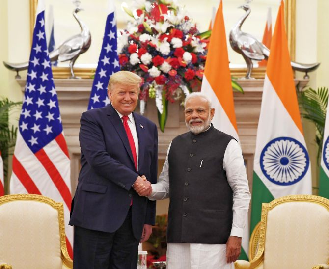 PM Modi, Trump hold bilateral talks in Delhi