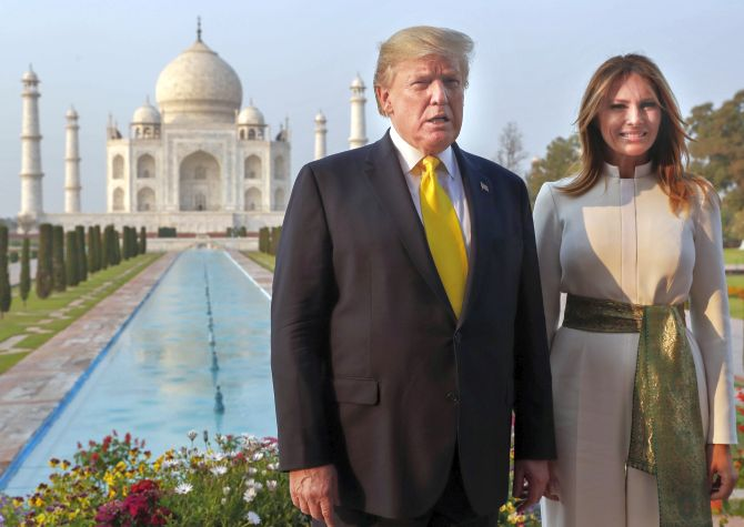 Trump got emotional during Taj Mahal visit: Tour guide