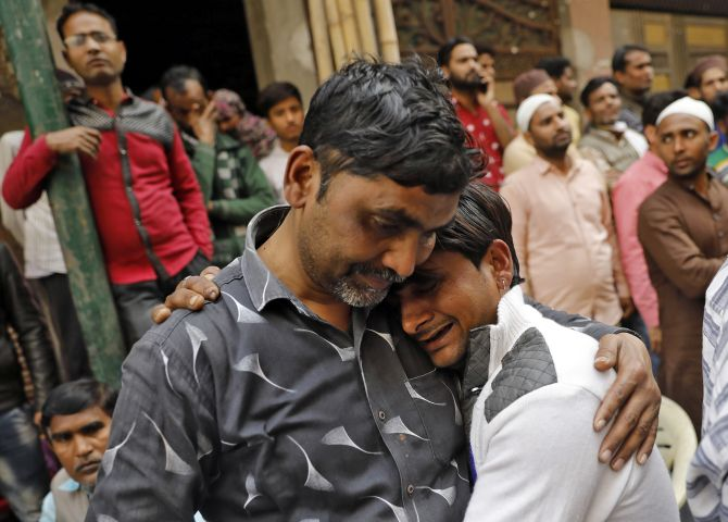2 brothers, 85-yr-old woman among 38 killed in riots