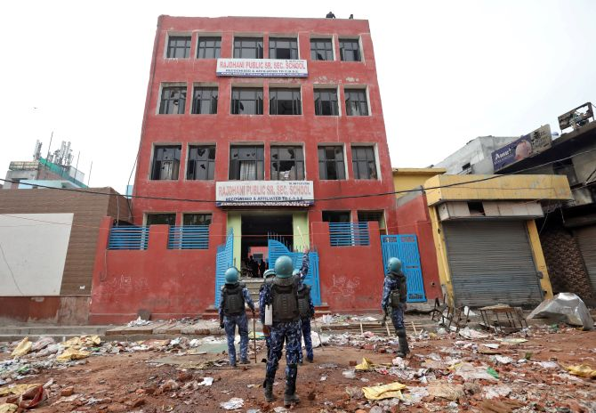 Schools in riot-hit Delhi closed till March 7