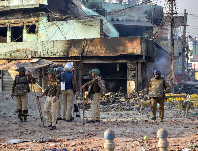 Uneasy calm in Delhi riot-hit areas; toll touches 34
