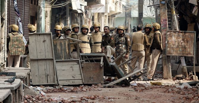 We were heavily outnumbered: ACP hurt in Delhi riots