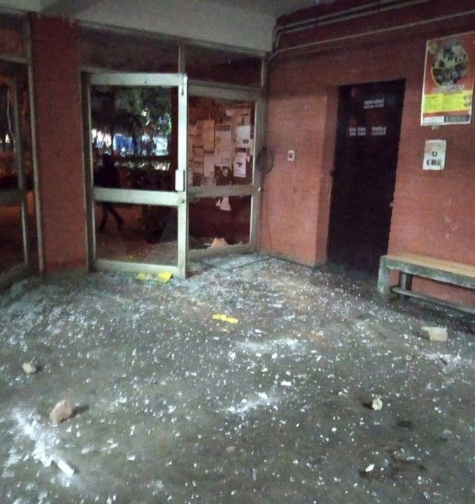 JNU violence: 'A shame on our democracy'