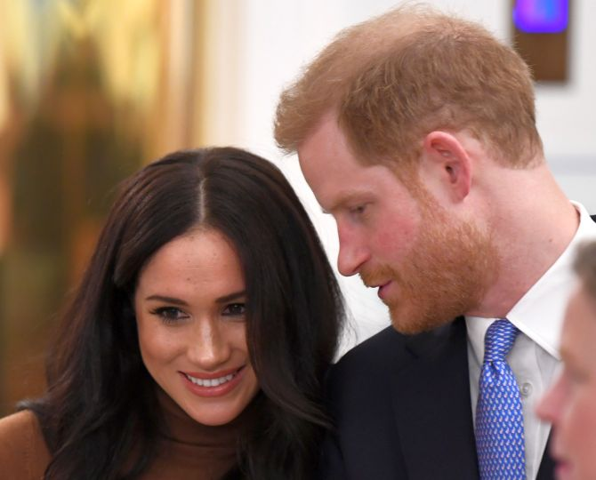 Harry, Meghan agree to drop 'royal' from branding