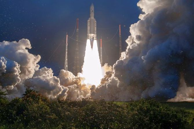 ISRO's GSAT-30 satellite launched aboard Ariane rocket