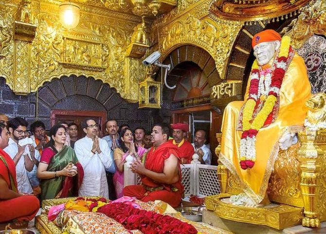 Bandh in Shirdi on Sunday over Uddhav's remark
