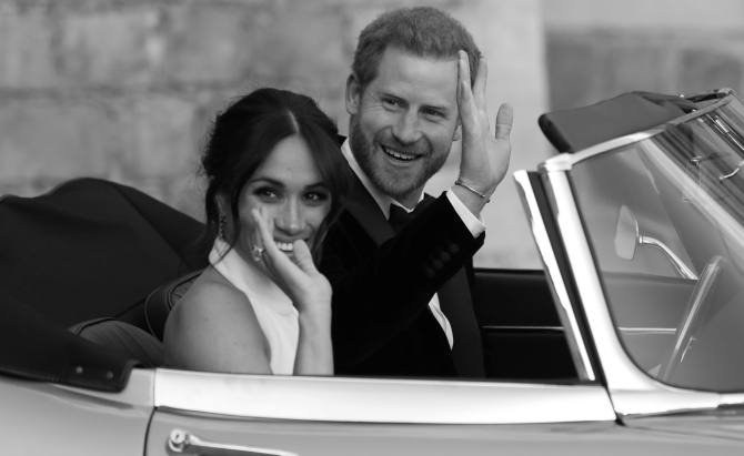 Britain's Prince Harry, Meghan to give up royal titles