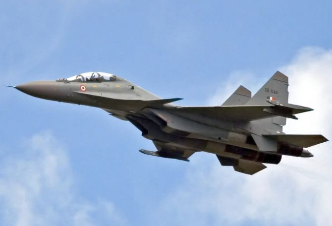 IAF inducts first Su-30 MKI squadron in south India