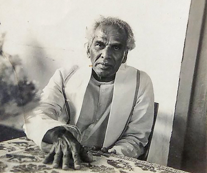 V K Krishna Menon in 1965. Photograph: Kind courtesy https://twitter.com/SiddharthMNair