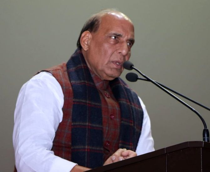 Pak, even US, are theocracies, but not India: Rajnath