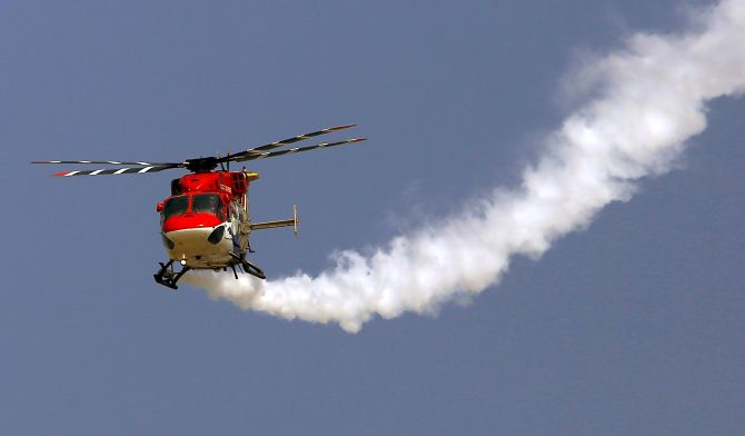 Dhruv vs Foreign chopper:  Who will Rajnath pick?