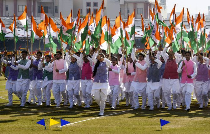 India celebrates its 71st R-Day with colourful parades