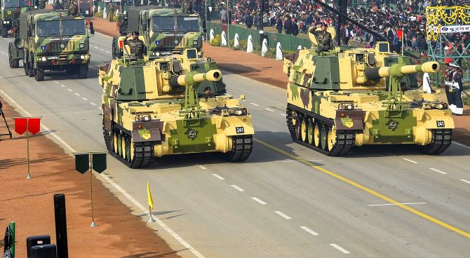 Rajpath comes alive on Republic Day