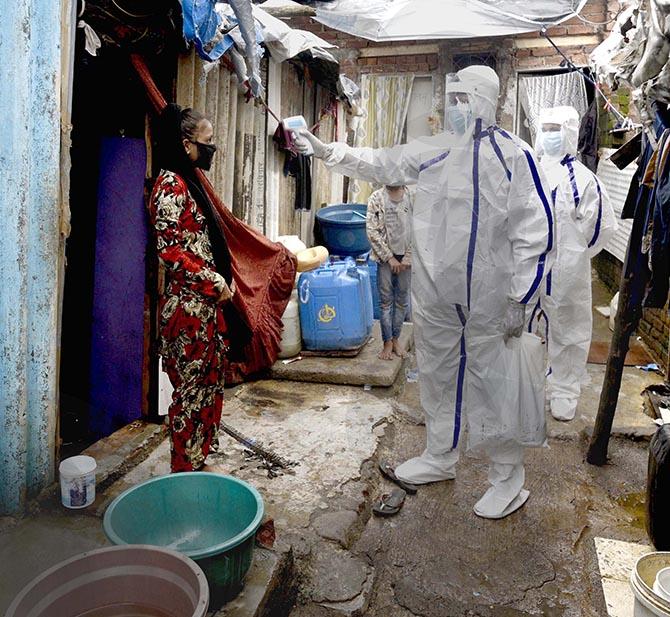 '57% of Mumbai's slum dwellers have Covid antibodies'