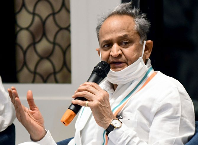 Gehlot writes to Modi over bid to 'topple' his govt
