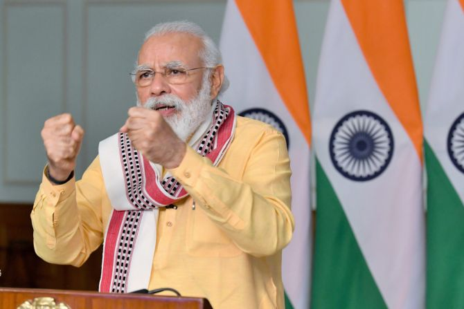 Modi and the art of event management