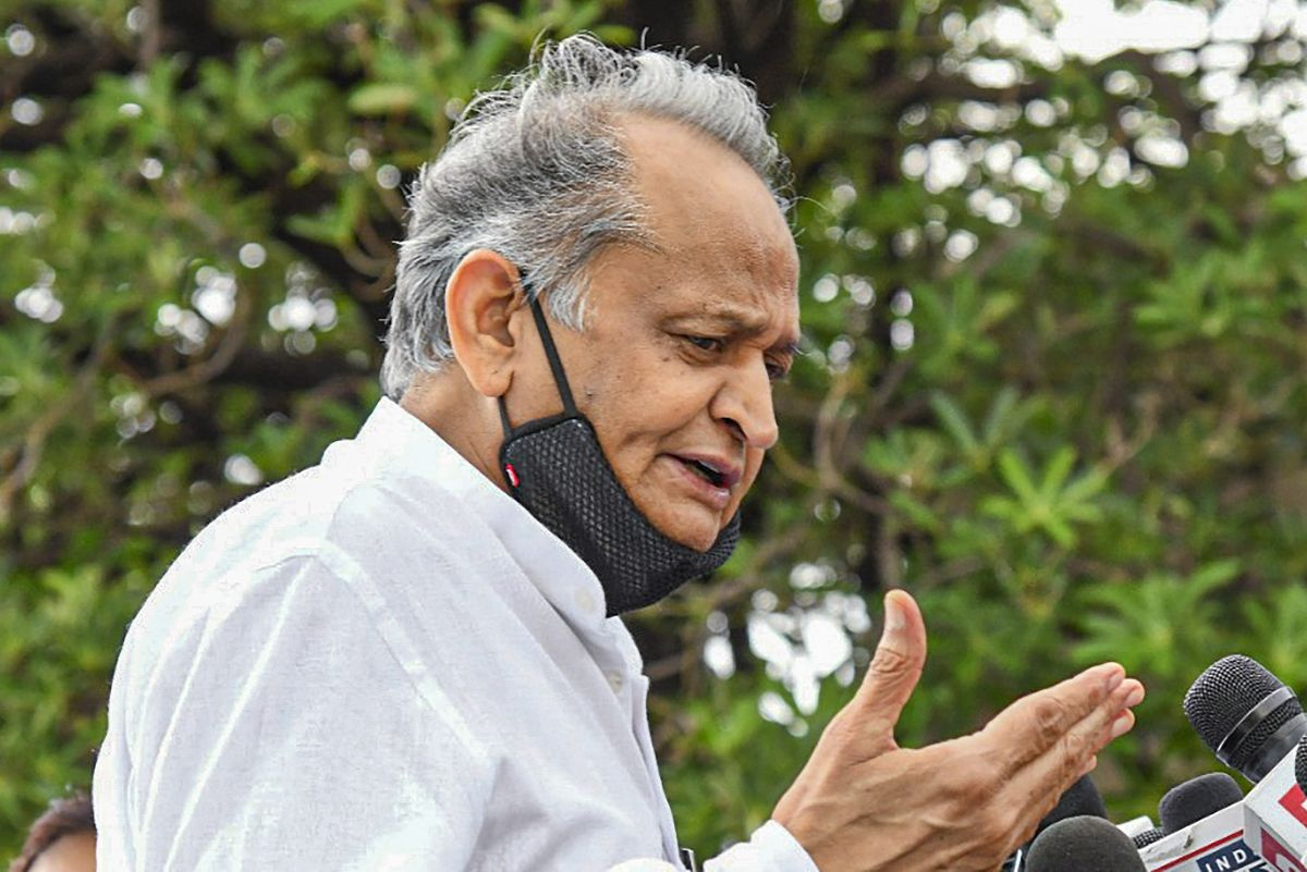 Visit Baran to know ground reality: Gehlot to BJP